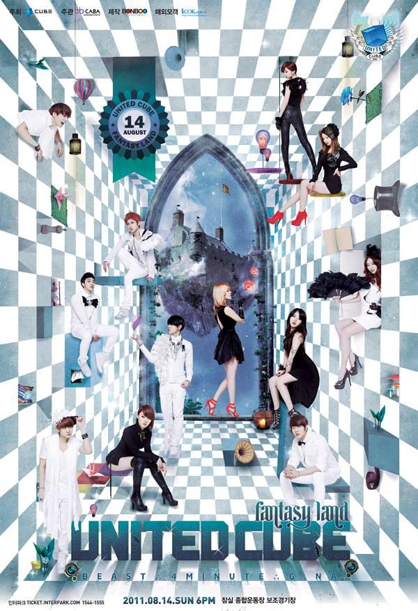 """""""United Cube Concert"""" organiza un concierto en Japón 20110614_united_cube_poster"""