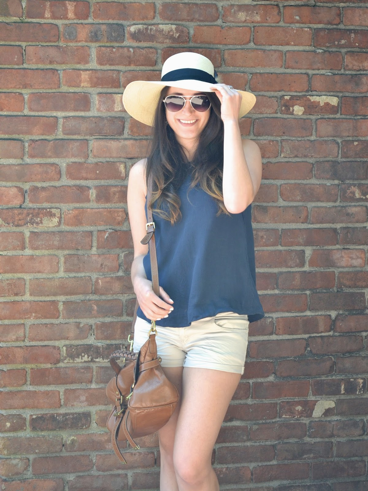 navy + neutral