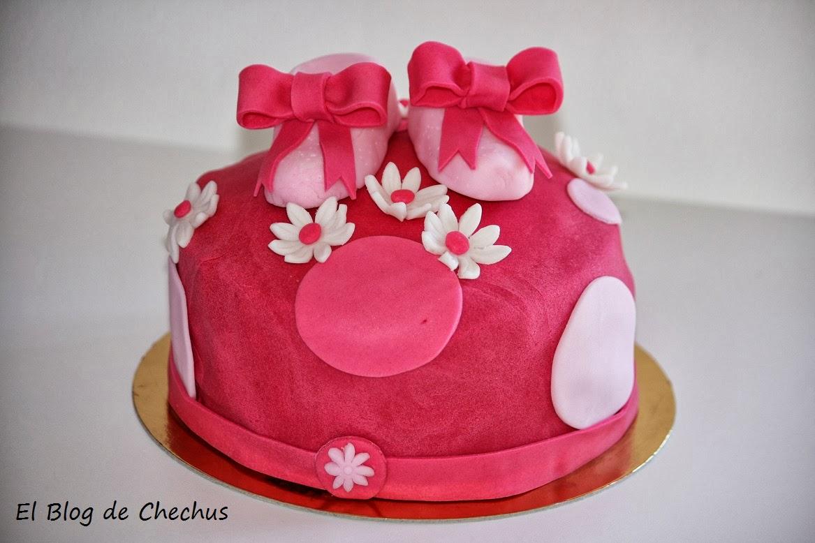 Tarta peucos bebe, El blog de Chechus, Chechus cupcakes