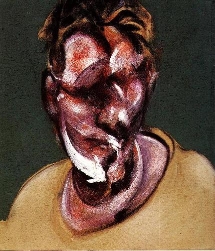 Francis Bacon (1909 - 1992) Francis+Bacon+-+Portrait+of+Lucian+Freud+1965