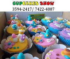 Cupcake Alice no pais das maravilhas