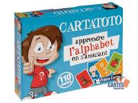 jeu éducatif : Cartatoto l'alphabet