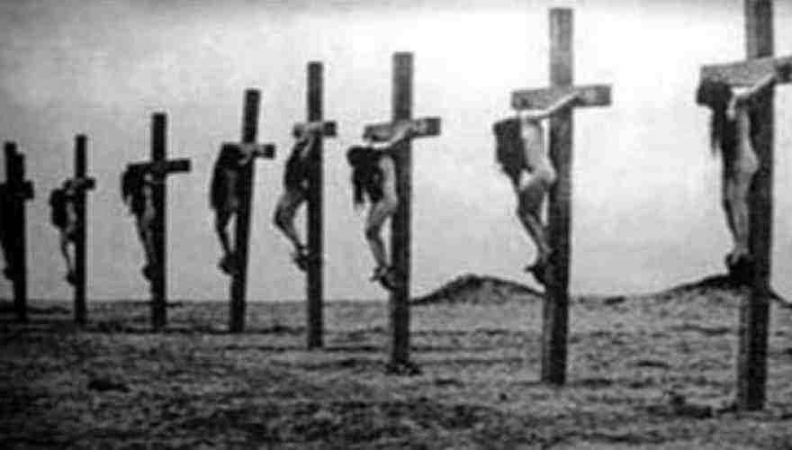 Ιδού οι γενοκτόνοι των λαών! Όταν ο τουρκικός στρατός σταύρωσε τις γυναίκες των Αρμενίων! Πειστήρια τα ντοκουμέντα των αρχείων του Βατικανού