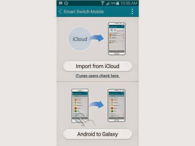 Làm thế nào để chuyển dữ liệu từ iPhone sang Galaxy S5?