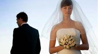 لماذا يخاف الرجال من الزواج - عروسة حزينة زواج فاشل طلاق - sad bride groom marriage wedding fail