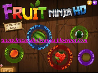 Play fruit ninja online game