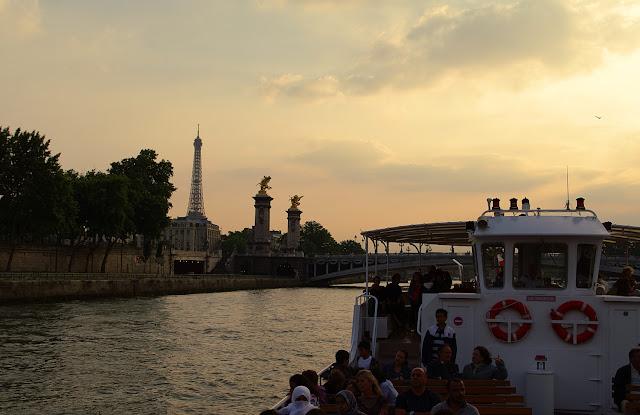 Croisière sur la Seine Paris photo