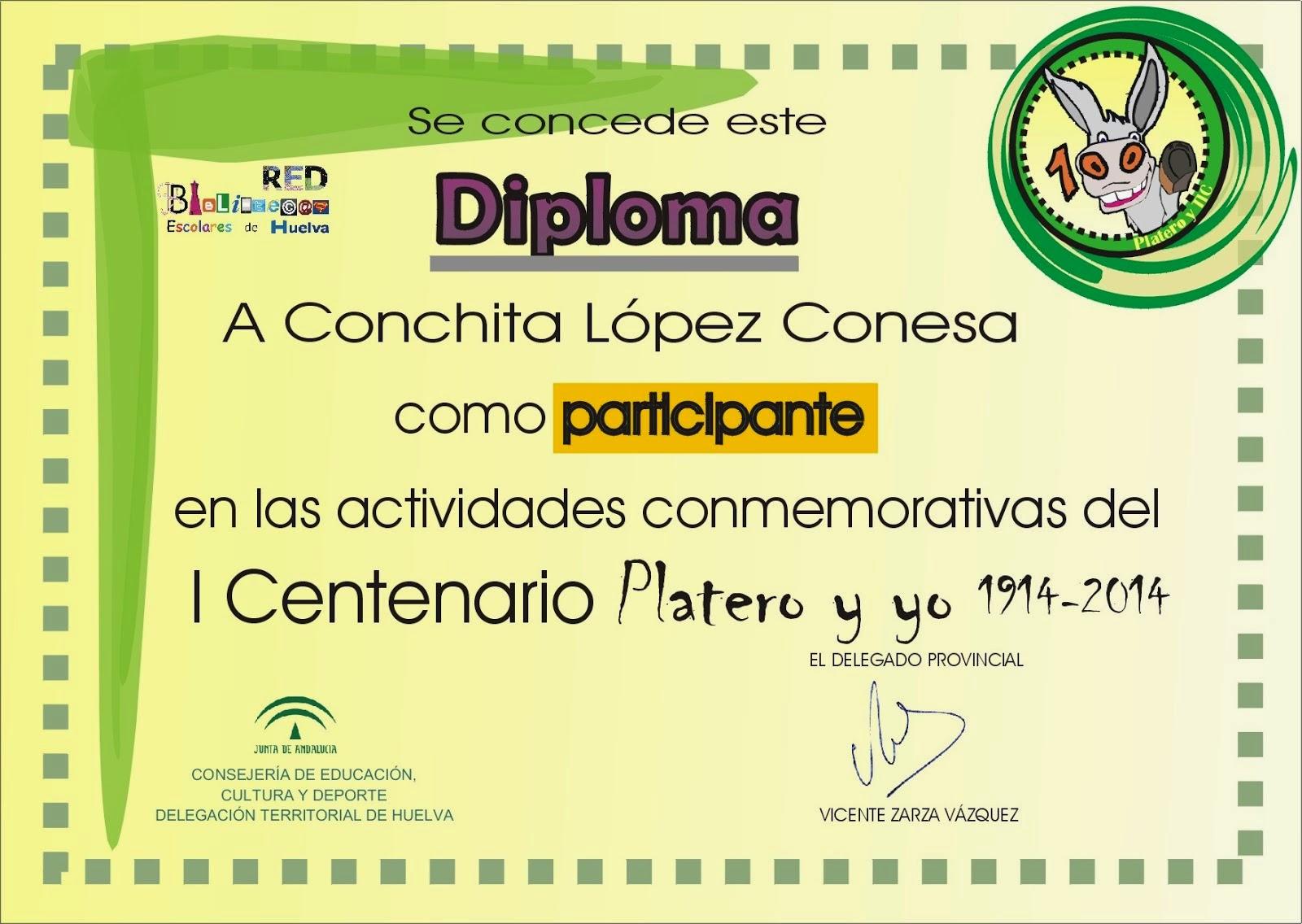 """Participamos en el I Centenario de """"Platero y yo"""""""