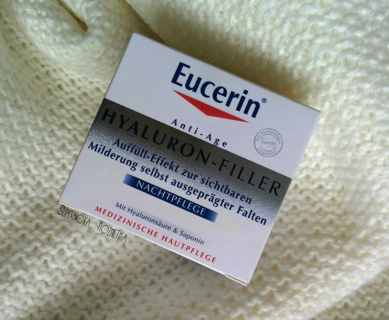 supernova kozmetika  eucerin hyaluron  night cream    no u0107na krema