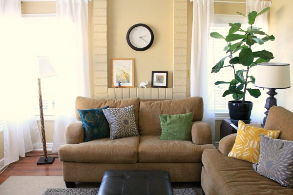 my living room: I asked, you answered!