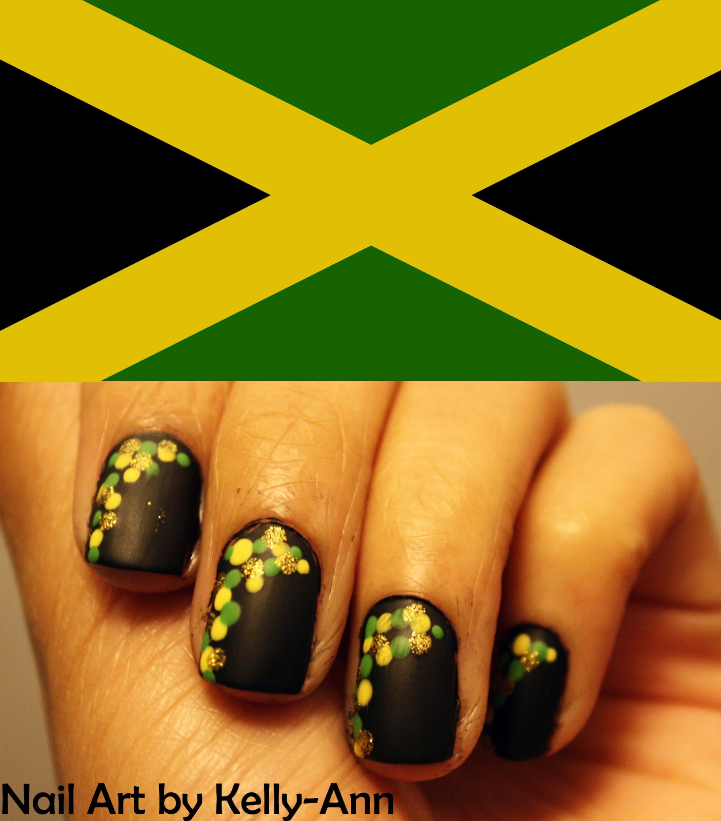 Nail Art Designs From Jamaica
