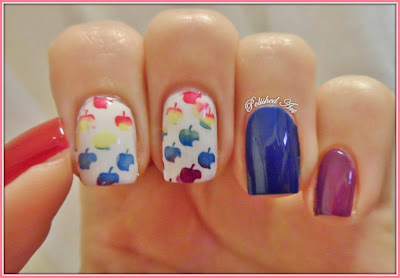 Flip-Flop-Challenge-day-15-stamped-manicure-with-Born-Pretty-Store-apple-stamping-plate