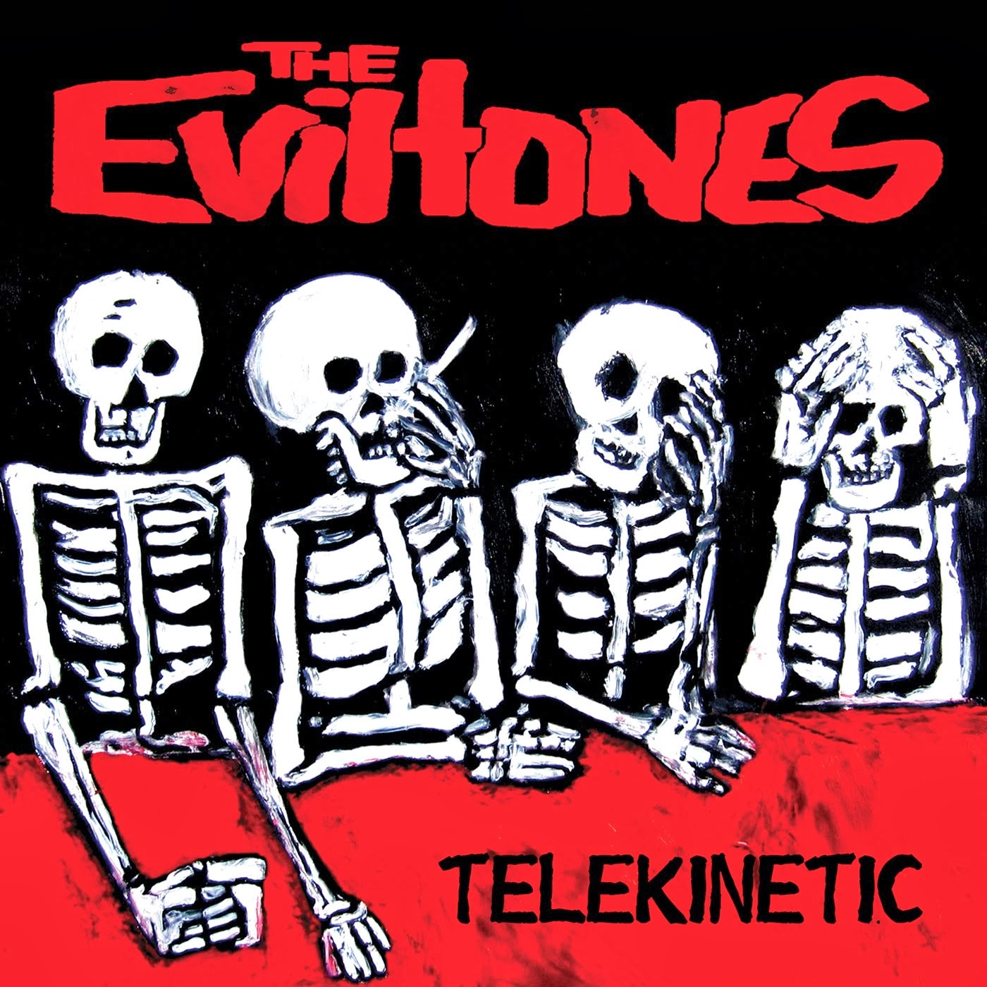 THE EVILTONES - Telekinetic 7""