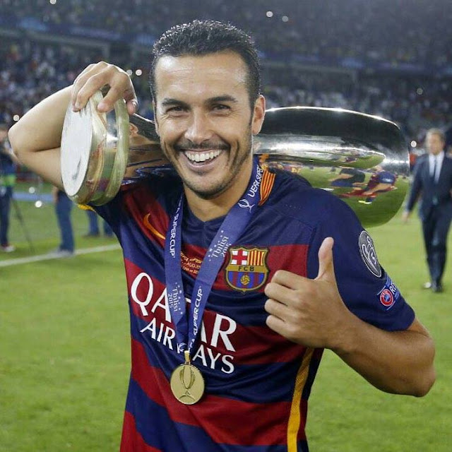 Pedro Super Cup winner marks perfect time to leave Barcelona