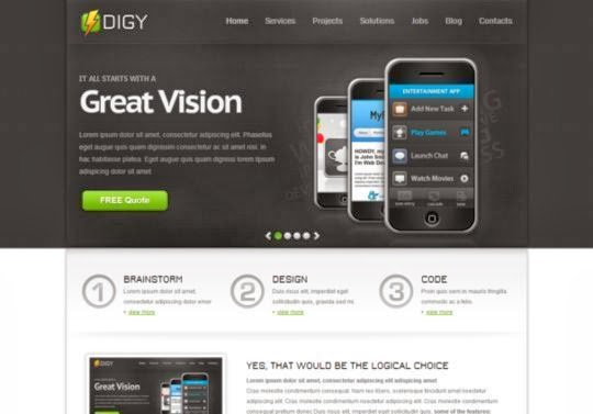 Digy Responsive Html5 Theme