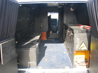 Fd polisbil - inredning för spaning? / Former Cop surveilance interior?