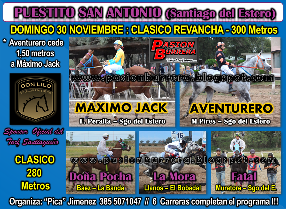 PUESTITO SAN ANTONIO - 30 NOV.