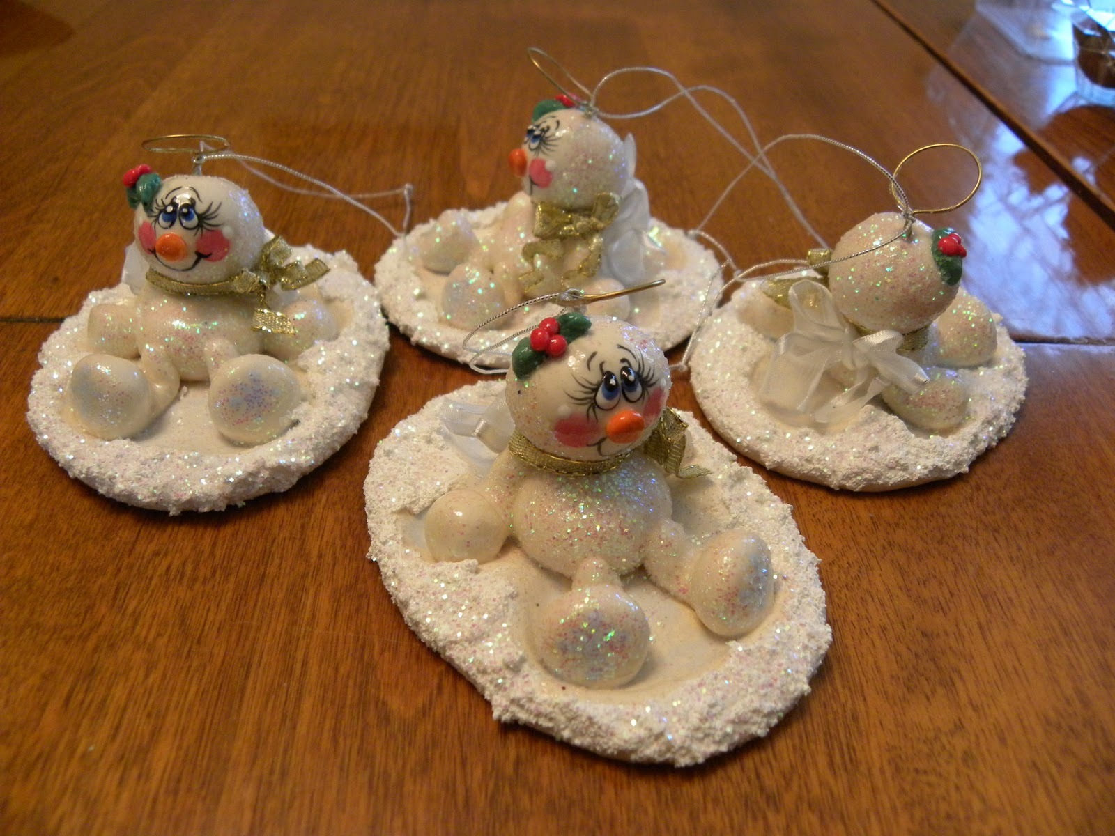 dragon wings and fairy things  dough art ornaments
