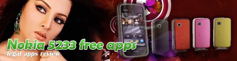 Nokia 5233 free apps download