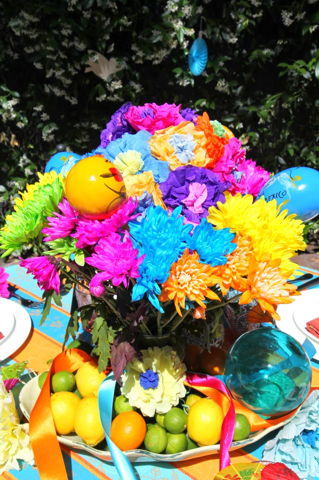 Colorful Bouquet; Cinco de Mayo Celebration -- Nora's Nest