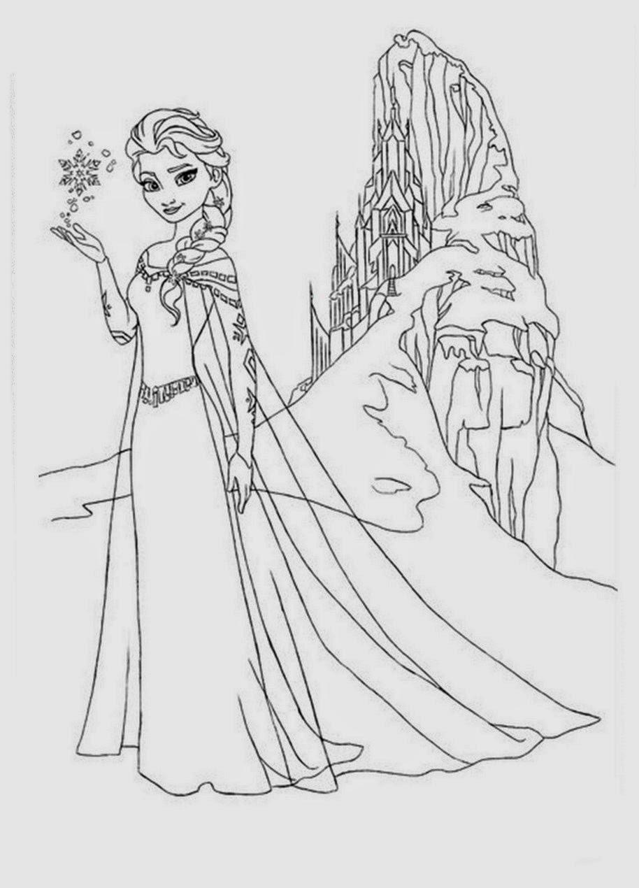 Free Coloring Pages Of Elsa Dan Anna