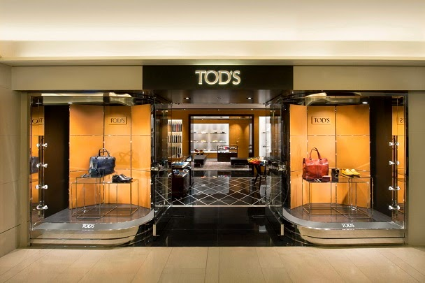 3c3d3eb1423b TOD S opened its first men s boutique in Landmark Hong Kong with modern  classic interior recently. The new men s boutique measures 112 square  meters and ...
