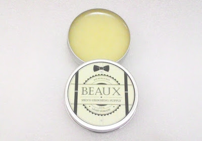 Beaux Men's Grooming Supply Light Pomade Review