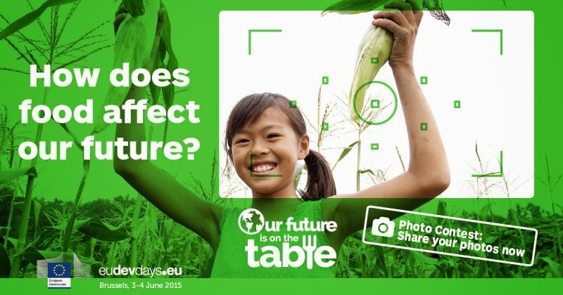 2015 Our Future is on the Table! photo contest, European Development Days