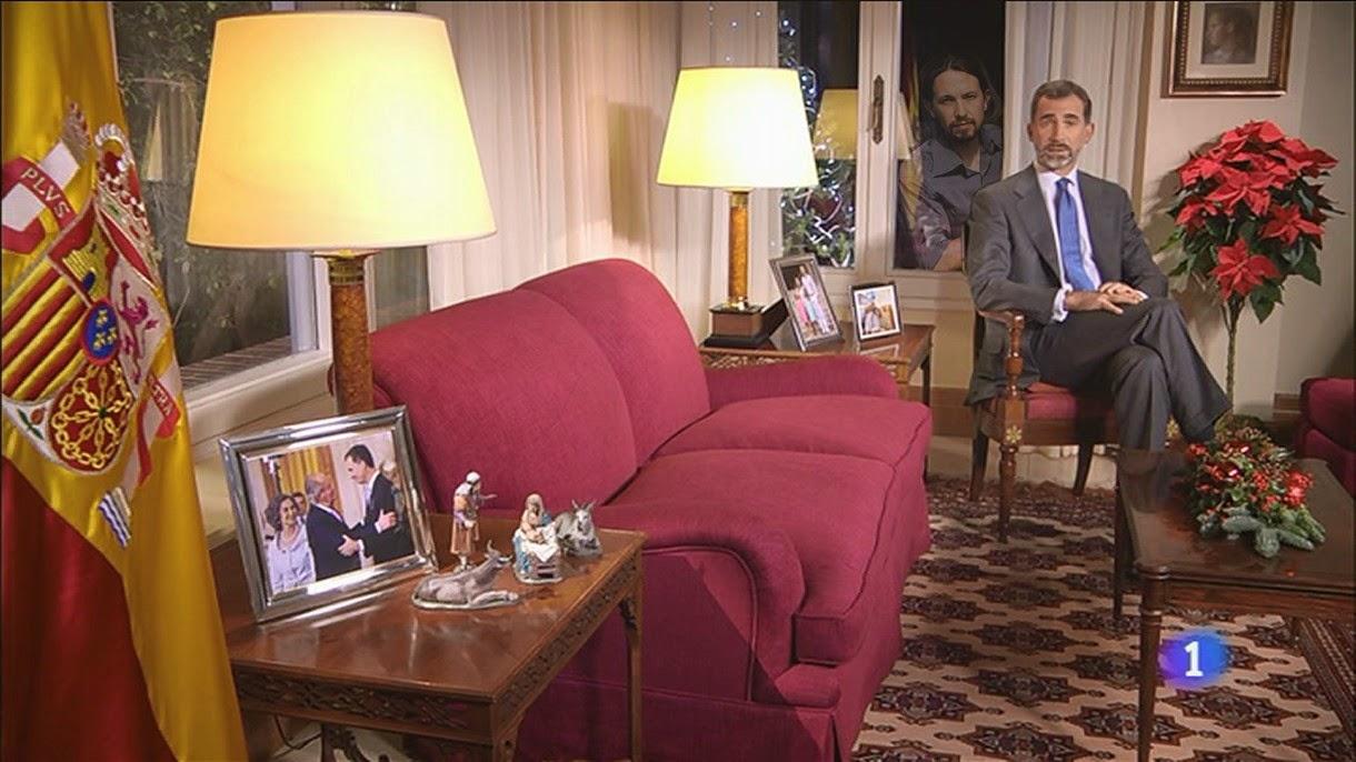 Memes discurso Navidad Felipe VI 2014