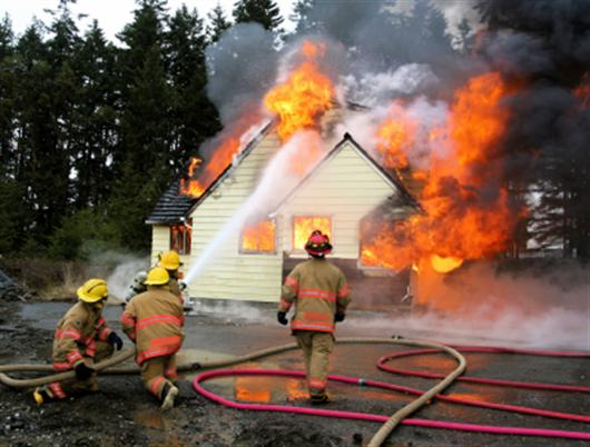 Words short essay on A House on Fire