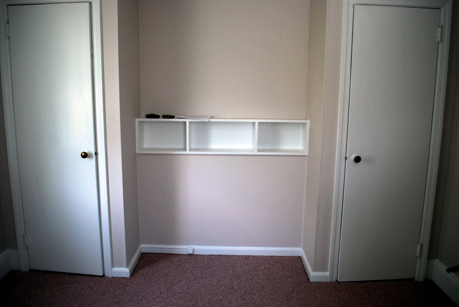 Amazing We Hired Professionals To Remove The Two Closets, Widen The Existing  Doorway Into A Double