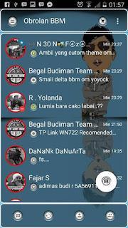 BBM Tema Transparan Versi 2.10.0.30 Apk Terbaru