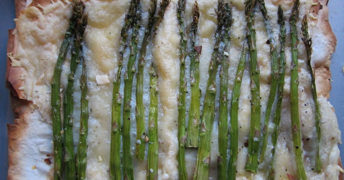 snackology: Asparagus Gruyere Tart