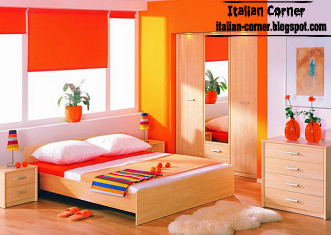 Contemporary girls bedrooms designs with italian ideas for Modern italian bedroom designs