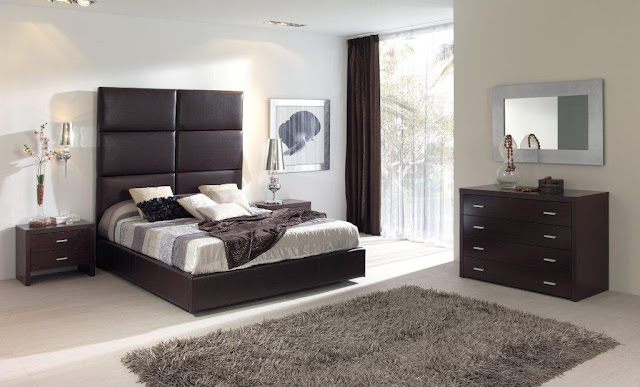 meubles chambre coucher contemporaine id es d co pour maison moderne. Black Bedroom Furniture Sets. Home Design Ideas