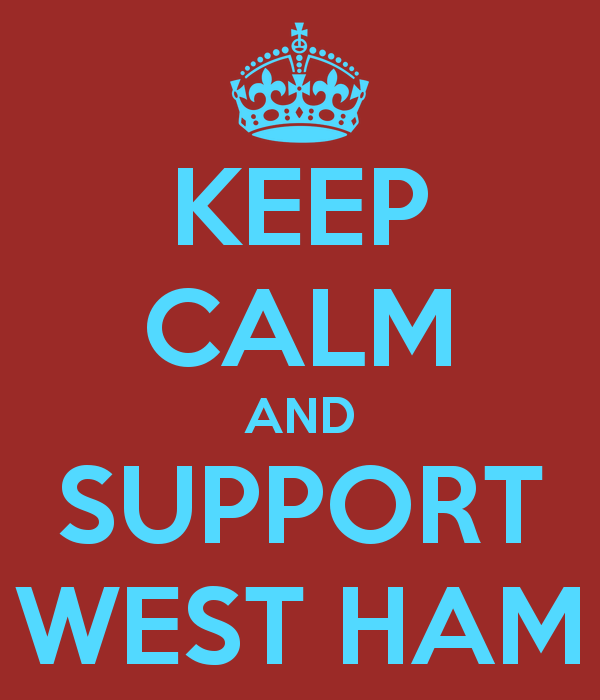 Keep Calm & Support #Westham after Reading faux pas