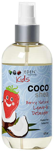 Eden Bodyworks Kids Coco Shea Berry Natural Leave-In Detangler