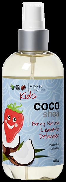 Eden Bodyworks Kids Coco Shea Berry Natural Leave-In Detangler