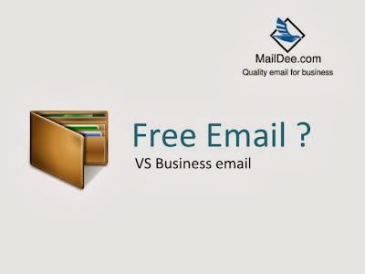 แบบไหนดีกว่ากัน ระหว่างฟรี กับ เสียเงินสร้างอีเมล์บริษัท