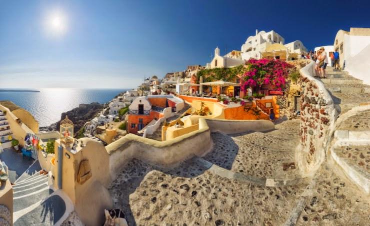 1. Santorini, Hellas (Greece) - Top 10 Mediterranean Destinations
