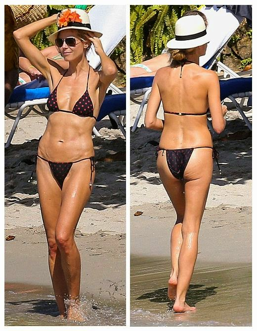 Heidi Klum has got herself a young, and of course, healthy as she wasn't shy when it came to parading her love and figure at Jamaica on Monday, December 1, 2014.