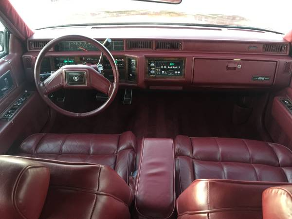 Daily Turismo One Owner 1986 Cadillac Deville Sedan