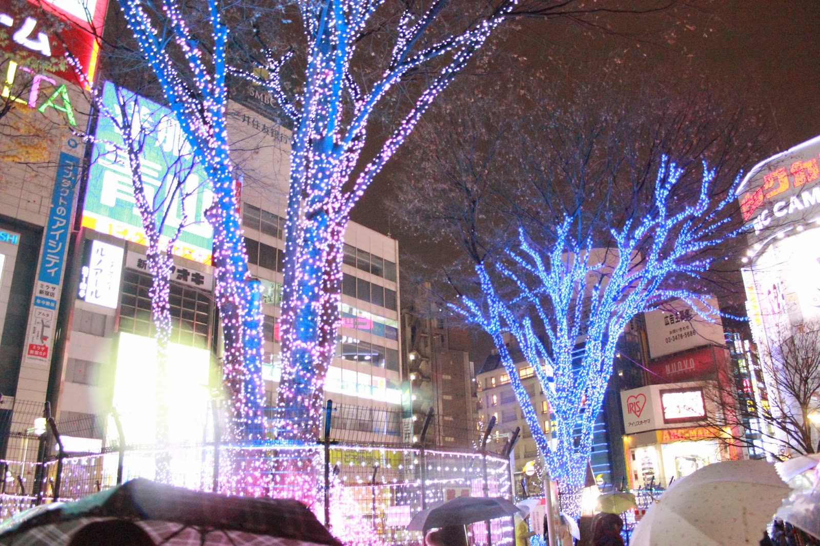 Lights in Shinjuku, Japan