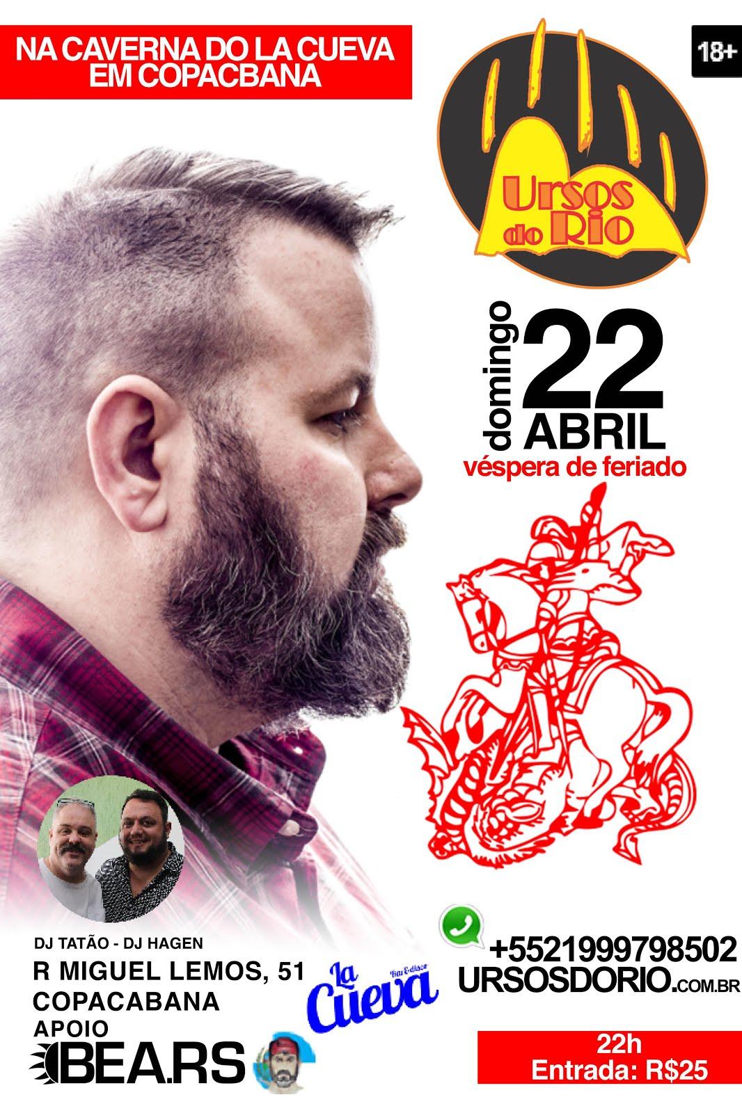 DOMINGO - 22/04 - 20H