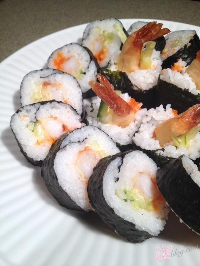 ekiblog com  tutorial  shrimp tempura roll