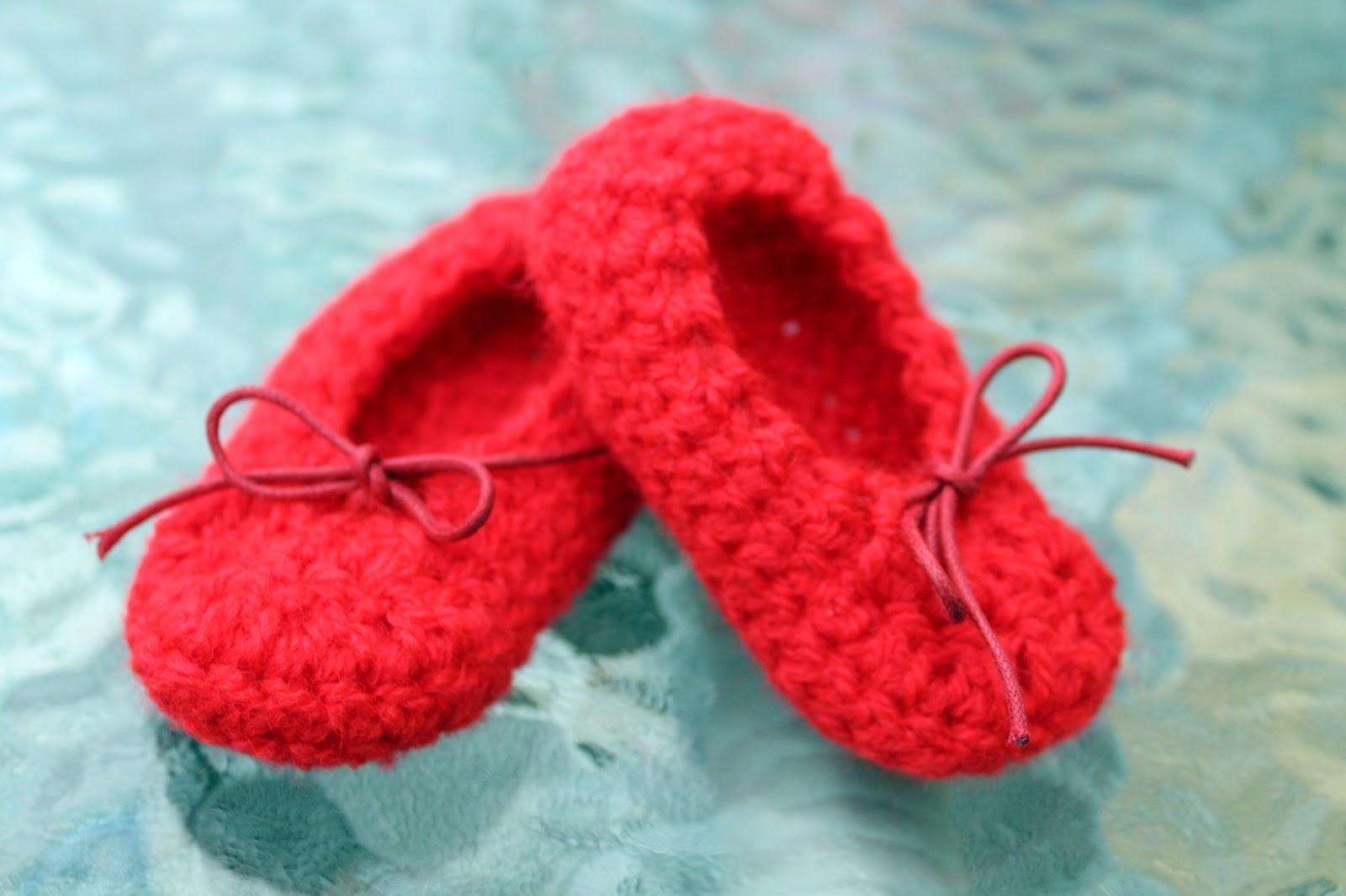 Bailarinas Para Beb   A Crochet   PASO A PASO