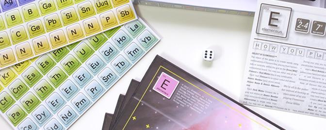 Juegos De Baño Quimico:Scrabble pero con fichas de elementos químicos