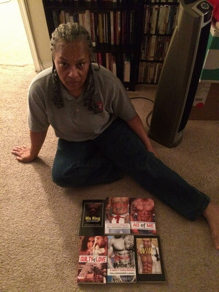 A Fabulous Reader Who Bought 6 of My Paperback Novels!!!