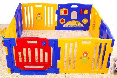 kids room furniture blog: baby playpen fence