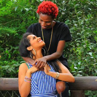 Leave Alone His Beautiful Girlfriend, Eric Omondi's Beautiful Mother-in-law Leave You Speechless